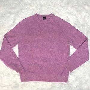 J. Crew lambswool slim bright pop color sweater L